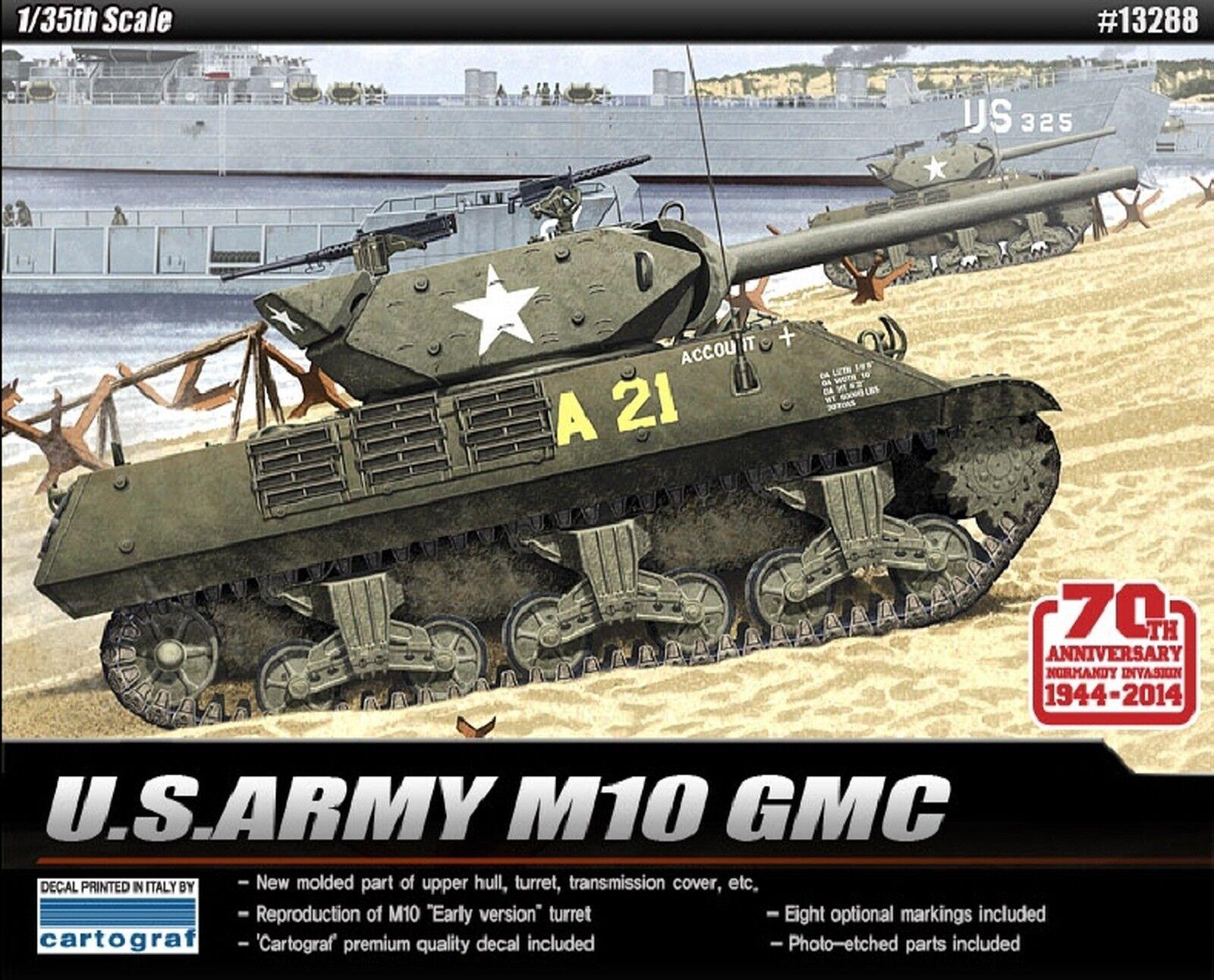 1 35 U.S Army M10 GMC
