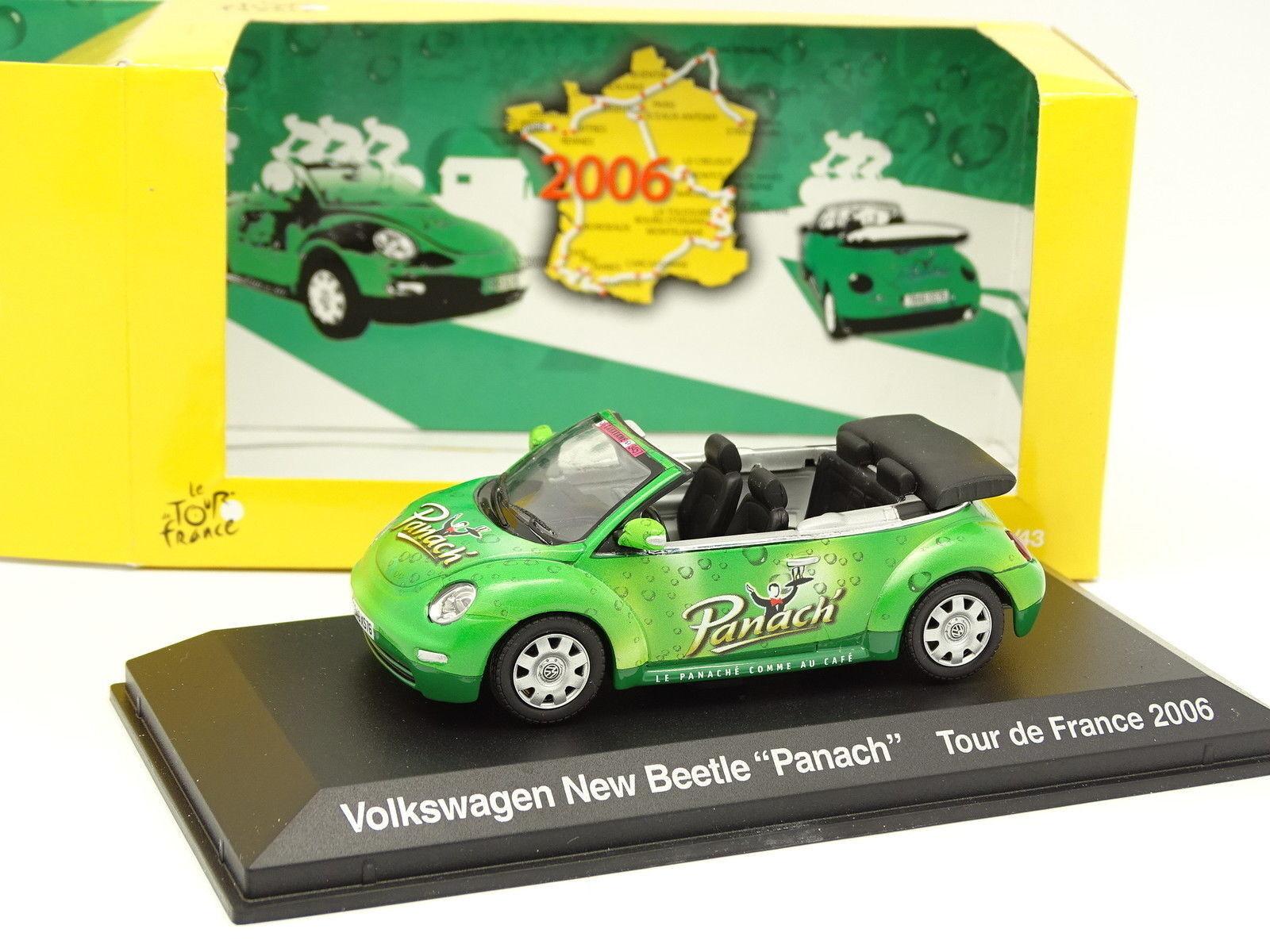 Norev 1 43 - VW New Beetle Panach Tour de France 2006