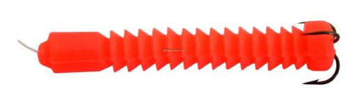 "NEW 6 Packs Doc/'s Super Catfish Worm Orange 2 Per pack 2 1//2/"" 21245"