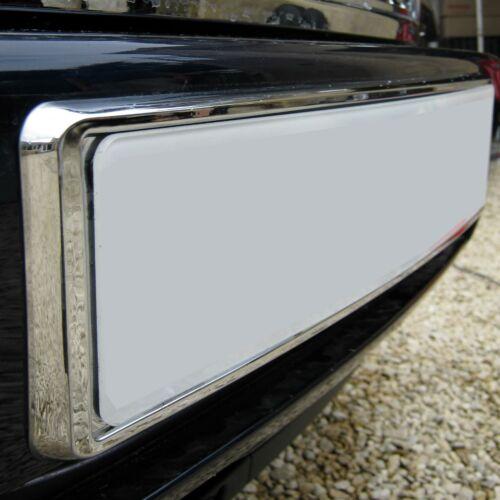 Chrome Front Number Plate Mount Frame Plinthe Pour Range Rover L322 Vogue 2002 Sur