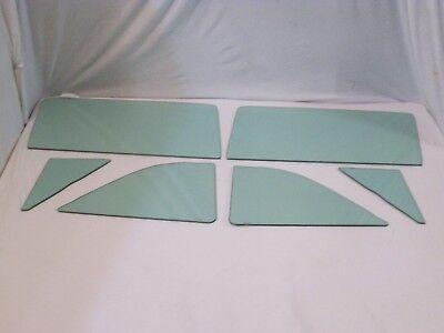 Quarter Glass in Green Tint 1957 1958 Ford 2 Door Hardtop Fairlane Fairlane 500