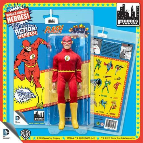SUPER POWERS Series 3; THE FLASH 8 INCH ACTION FIGURE MOMSC NEW