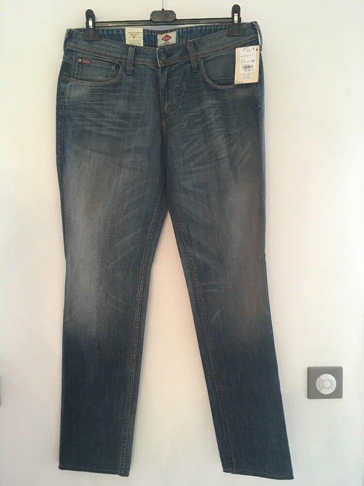 Jeans Frau Lee Cooper Bridget 33 5141 blau Größe 44 de  . W33L34 US