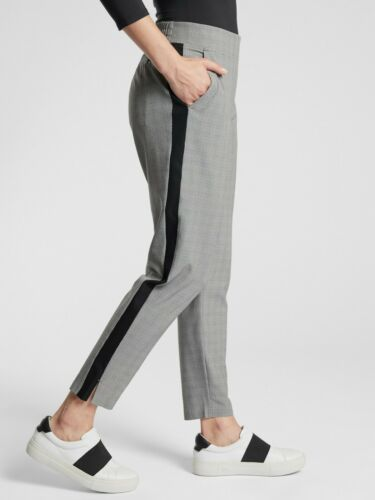Details about  /ATHLETA BROOKLYN PLAID ANKLE PANT SIZE 14 PETITE YOGA WORK TRAVEL NWT #486213