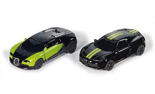 6309 Siku 1:50 Black /& Green Special Edition Bugatti Veyron Alfa Romeo 4C