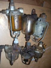 Vintage Oliver Ji Case Ih Farmall Tractor 6 Fuel Strainers