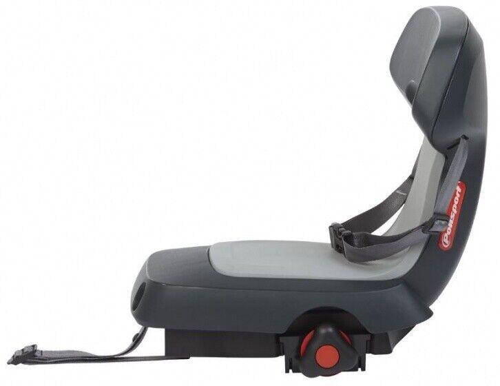 POLISPORT DuoSeggiolino per bicicletta posteriore Guppy JUNIOR GRIGIO CFS 8636100010
