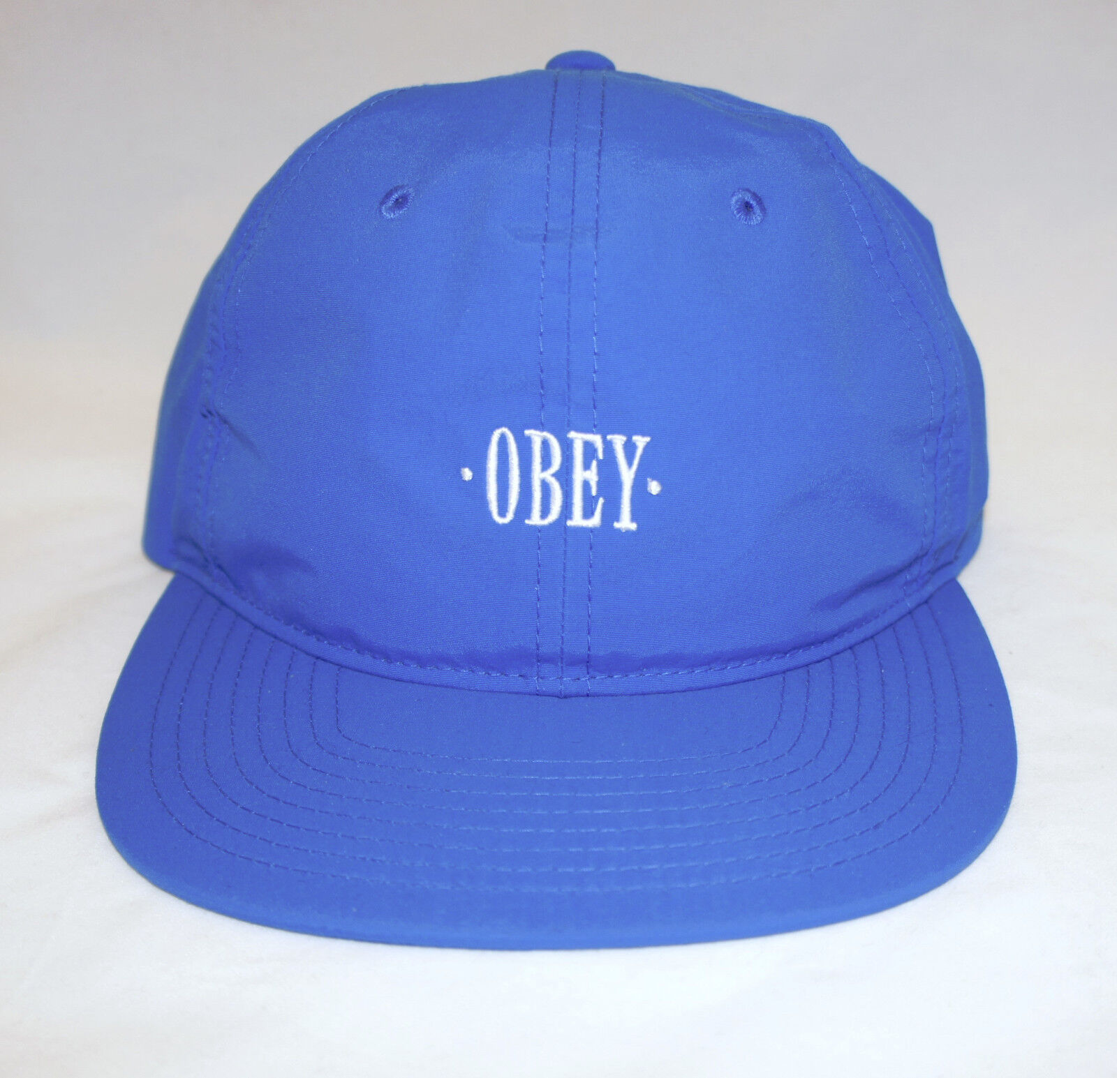 1b41ee6a5308e ... cheap obey courtland unstructured blue six panel mens unstructured  courtland strapback cap hat 475eb7 8047c 2a785