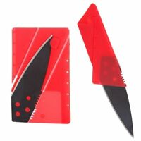 Hot Wallet Credit Card Foldable Razor Sharp Cardsharp Knife Hiking Survival Tool