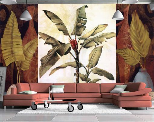 3D Personality Plant 8 Wall Paper Murals Wall Print Wall Wallpaper Mural AU Kyra