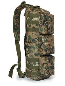 Tactical Airsoft Assault Aslant Go Bag Transformers Bagpack Multi Colors