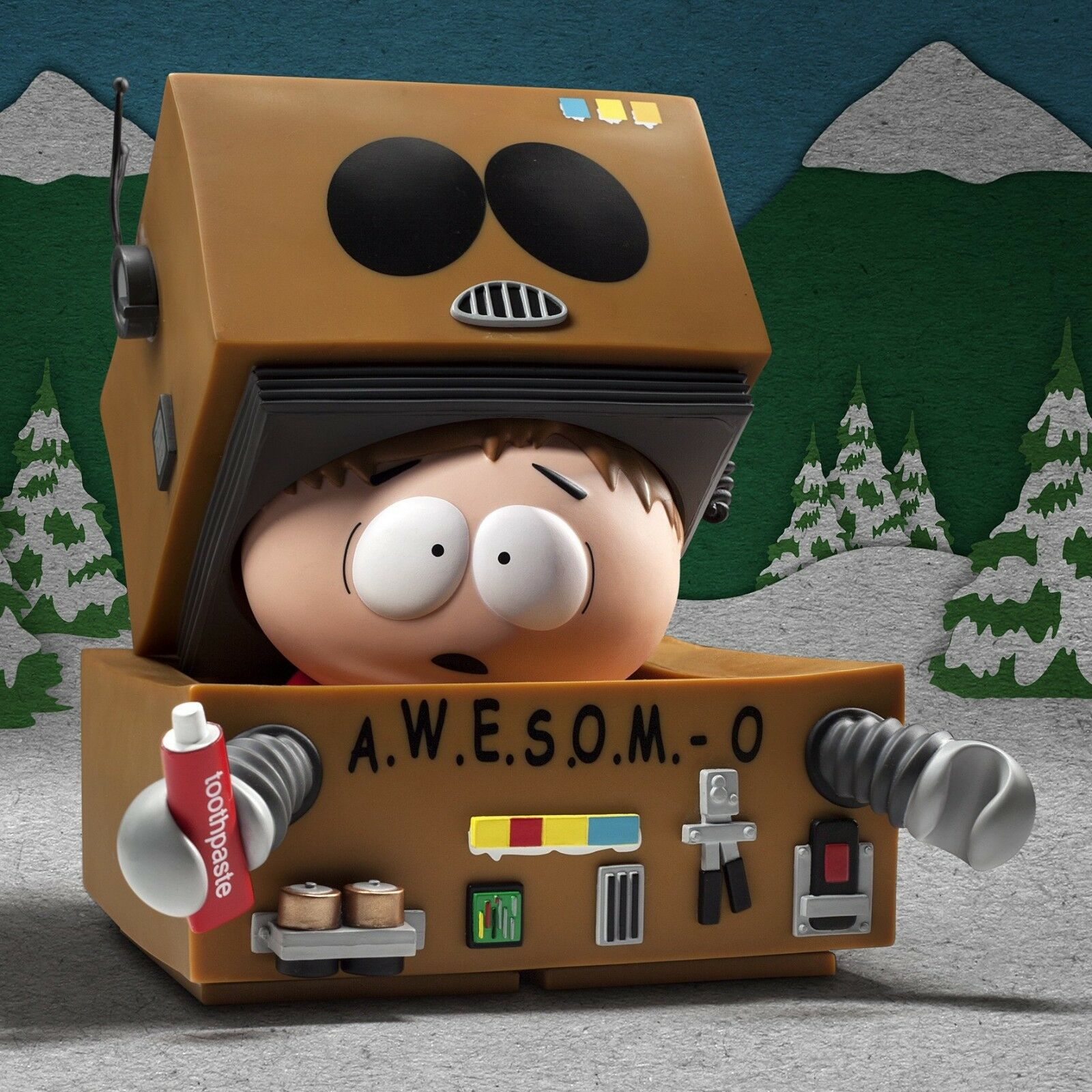 Kidrobot South Park Cartman Awesom-O (Robot) Medium 7
