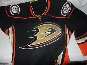 Reebok-Authentic-NHL-Edge-Anaheim-Ducks-Hockey-Jersey-Size-52-Mens-L