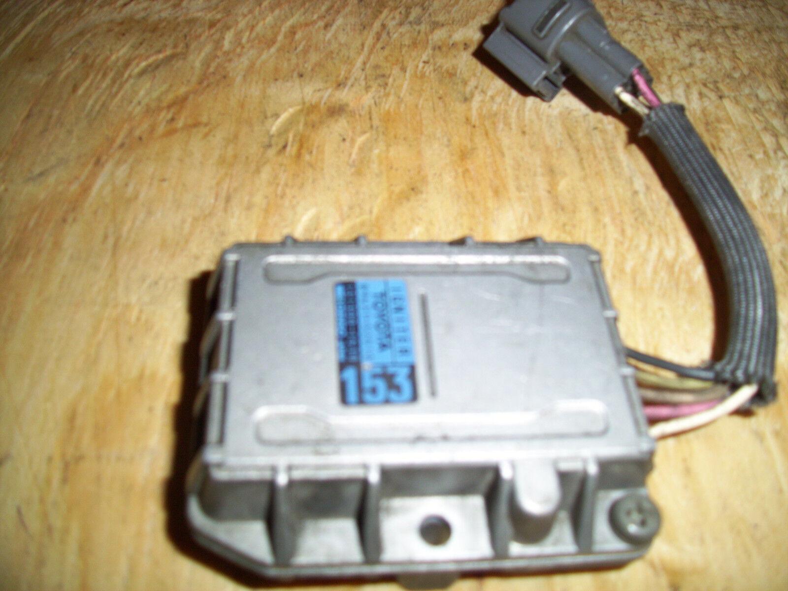 1987-91 Toyota Camry Genuine Ignition Control Module Igniter # 89621-32010 511