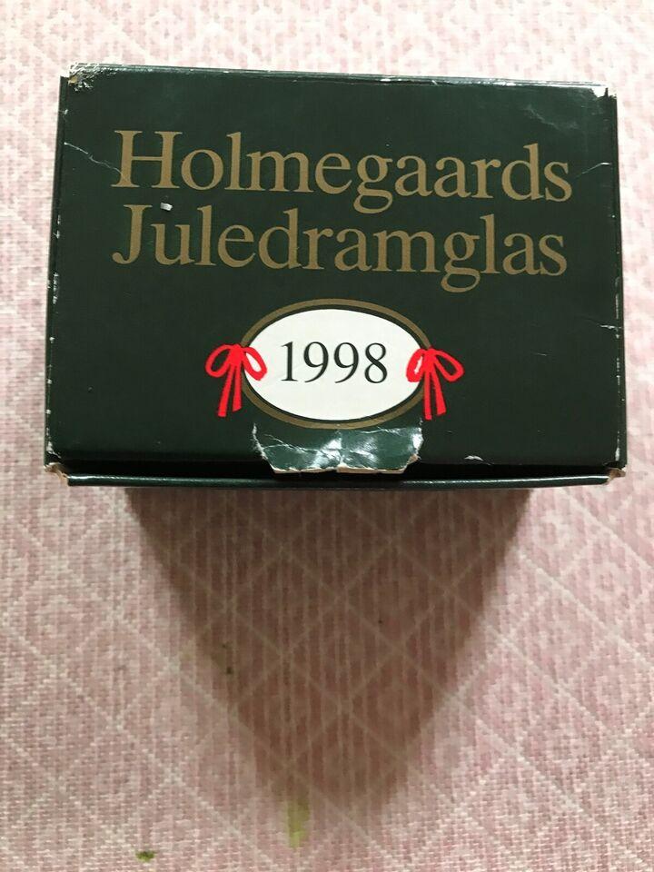 Glas, JULEDRAMGLAS 1998, Holmegaard