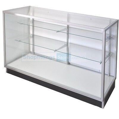Glass Display Counter ShowCase Framed 1220(l)x510(w)x970(h)