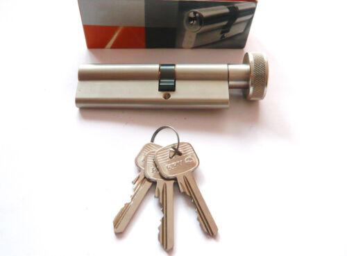 inkl 45// K 40mm 3 Schlüssel KFV Knaufzylinder Permutation 2