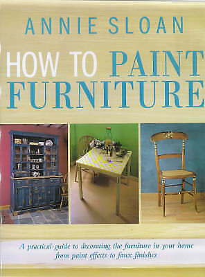 How to Paint Furniture, Acceptable, Annie Sloan, Book