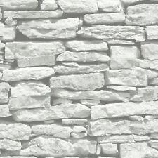 Brique Ardoise Papier Peint Effet   Rustique Rouge Blanc Lavé Grey Noir U0026  Plus