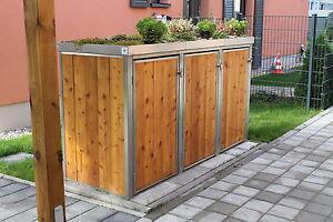 Mulltonnenbox Mullbox Mulltonnenverkleidung Mullhauschen Holz In