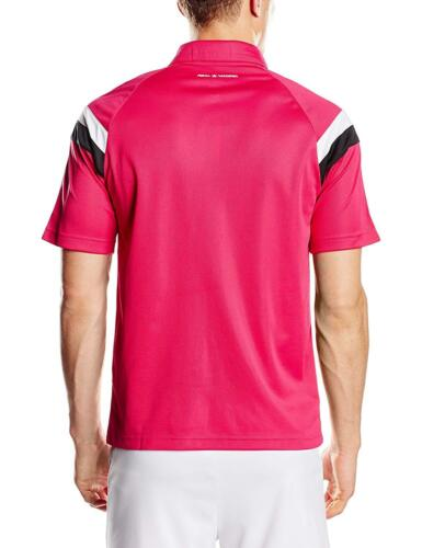 SB80 Authentic Adidas Men/'s Real Madrid ClimaLite Polo Shirt 2014//15