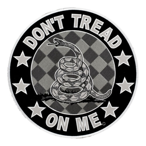 Reflective Subdued Don/'t Tread On Me Gadsden Snake Patch Patriotic Patches