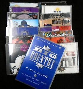 Big-Country-Collected-in-a-Lot-of-18-Discs-16-jewel-cases-Over-200-Tracks
