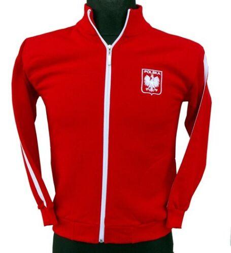 super bluza dziecięca kibica Polska ze stójką Great Sweatshirt Poland kid size