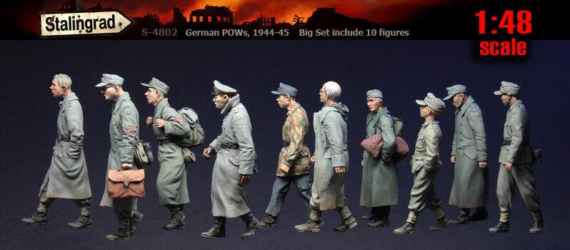 Prisionegros de guerra alemanes de Stalingrado 1   48, 1944 - 1945