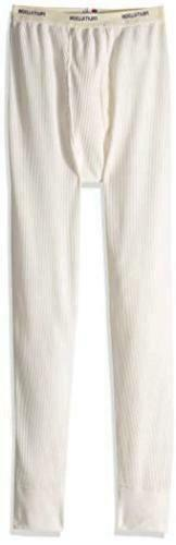 Fruit of the Loom Men's Classics Midweight Waffle Thermal, Natural, Size Large