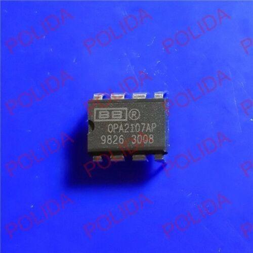 5PCS OP AMP IC BURR-BROWN//BB//TI DIP-8 OPA2107AP OPA2107APG4 100/% Genuine and New