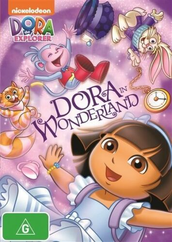 1 of 1 - Dora The Explorer - Dora In Wonderland (DVD, 2014) BRAND NEW REGION 4