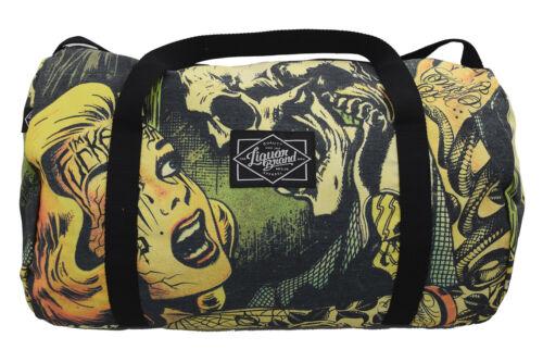 Liquorbrand Horror B Movie cartoon Oversized Duffel Bag Training Duffle Bag