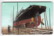 EUROPE  TELECARTE / PHONECARD .. ILE JERSEY 2£ GPT 72JERA BATEAU BOAT SHIP