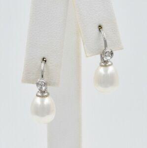 Biwa-Pearl-and-Diamond-Drop-Earrings-14K-White-Gold-7-5mm