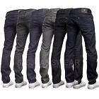 Crosshatch Men's Designer Branded Slim Fit Straight Leg Fashion Jeans, BNWT