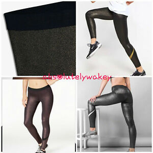 98140ec57c4eb Nike Pro Sparkle Women's Training Gym Running Casual Tights Black ...