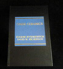 OXIDE CERAMICS: Physical Chemistry and Technology No.: 180