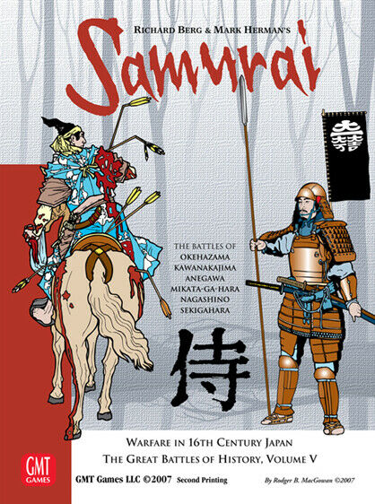 Wargame  SAMURAI (second  edition)  by GMT - NO AH MMP GAMERS COMPASS  acheter pas cher neuf