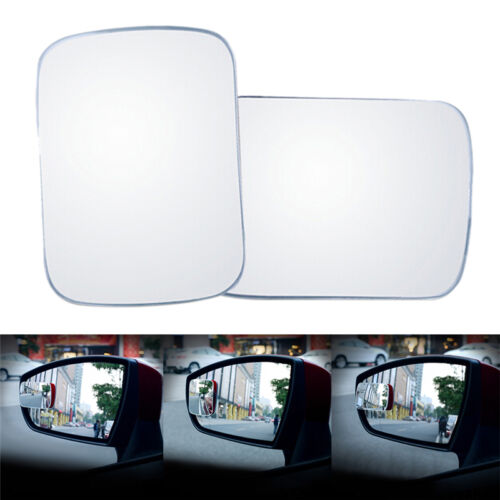 1x Universal Auto Car 360° Wide Angle Convex Rear Side View Blind Spot Mirror PL
