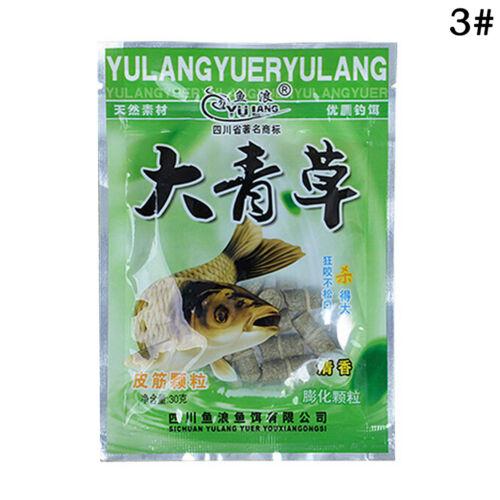 Red Worm Green Grass Granular Fishing Bait Additive Carp Catfish Feeder Bait YR
