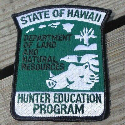 "New York State NY Hunter Training Program Twill Cloth 3 5//8/"" NRA Blue Patch"
