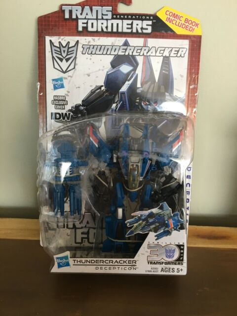 Transformers Generations - Deluxe - THUNDERCRACKER - MOC - Video Game Style