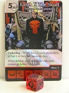 Dice-Masters-1x-135-Earth-X-The-Skull-Telepathic-Awakening-Foil-The-Mighty