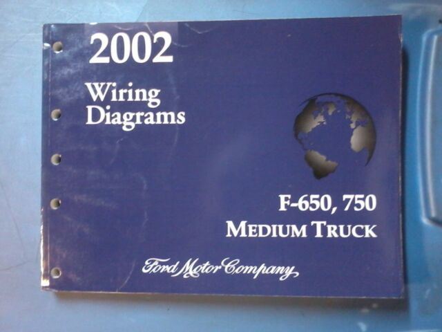 ford 2002 f650, 750 medium truck wiring diagram manual