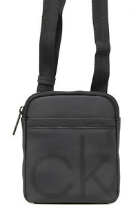 643c0617d62 CALVIN KLEIN MEN BAG CK POINT MINI FLAT CROSSOVER K50K503875 | eBay