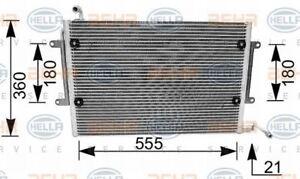 8FC-351-036-081-HELLA-Kondensator-Klimaanlage