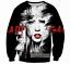 Mens//Women singer Lady Gaga 3D Print casual Fashion Sweatshirt Hoodies Tops