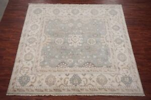 Square-10X10-Oushak-Hand-Knotted-Area-Rug-Oriental-Veg-Dyed-Wool-9-10-x-10