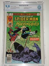 Marvel Team-Up 95 CBCS Graded 9.8 (Similar to CGC) 1st Mockingbird Appearance
